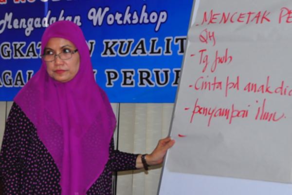 Workshop Psikologi untuk Guru Mengaji